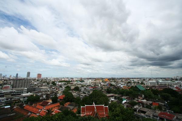 Bangkok, taken from Wat Saket