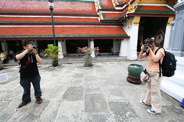We shooting each other in Grand Palace