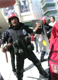 KLCC price hike protest