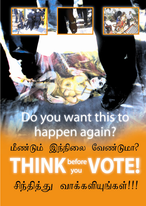 Hindu temples demolition - think and vote