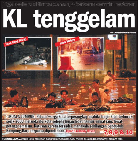 KL flood