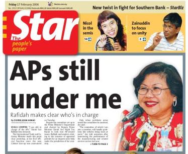 Rafidah AP