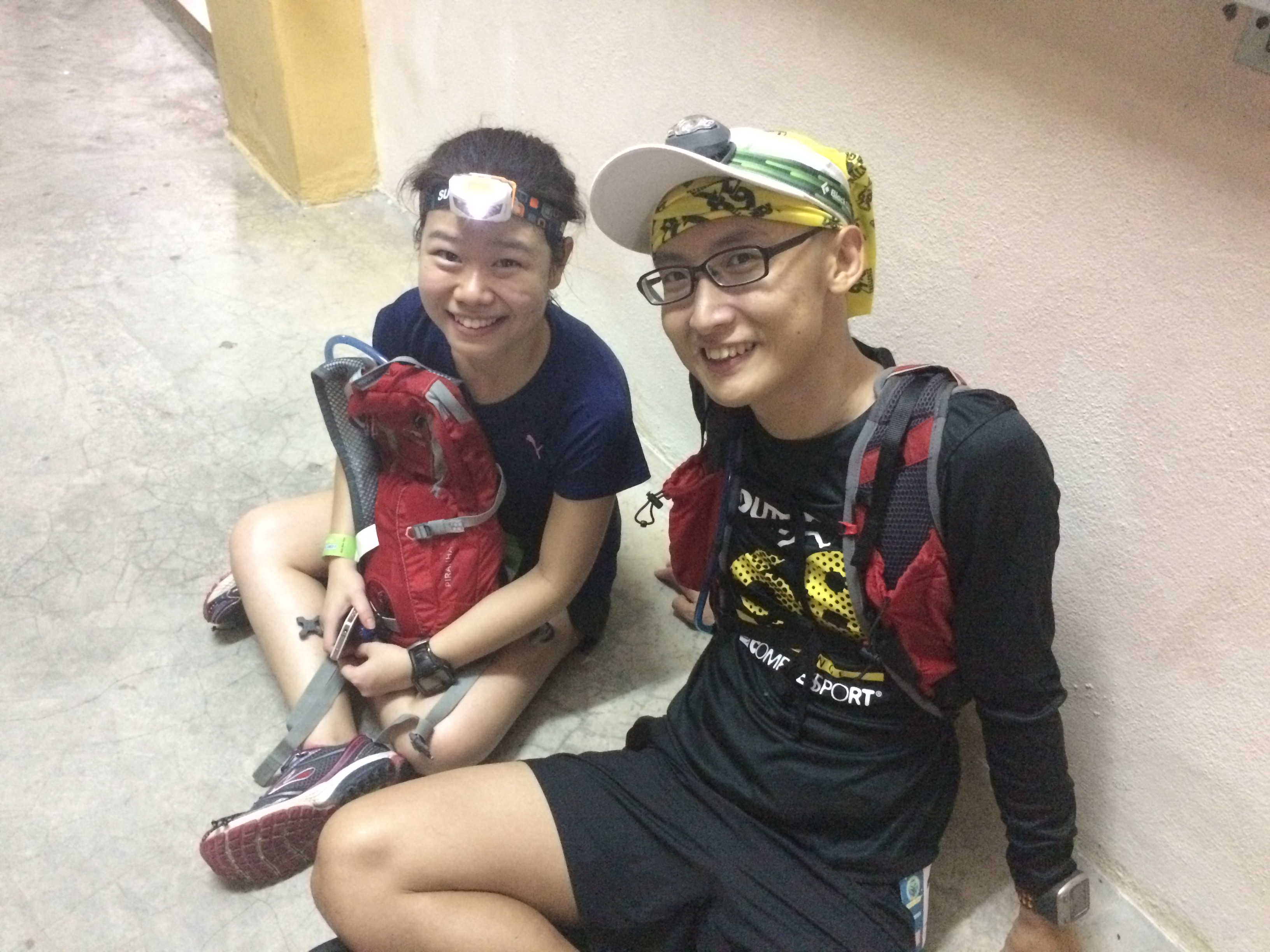 Penang Ultra 2015 - Met new friend Man Shin