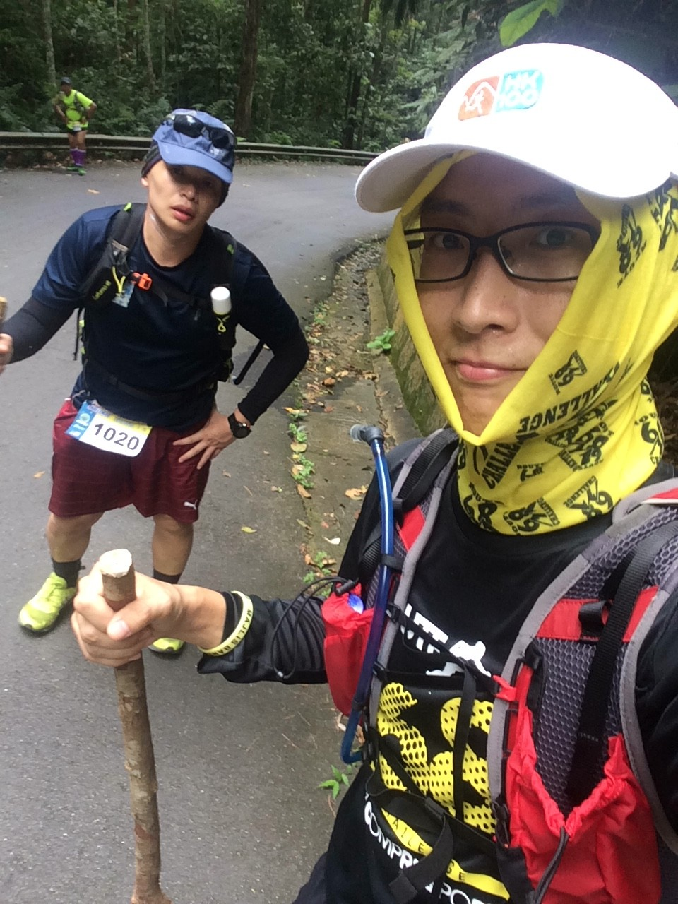 Penang Ultra 2015 - Struggling to climb up the gruelling Penang Hill