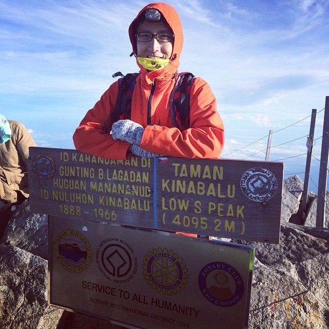 Conquered Mount Kinabalu for second time