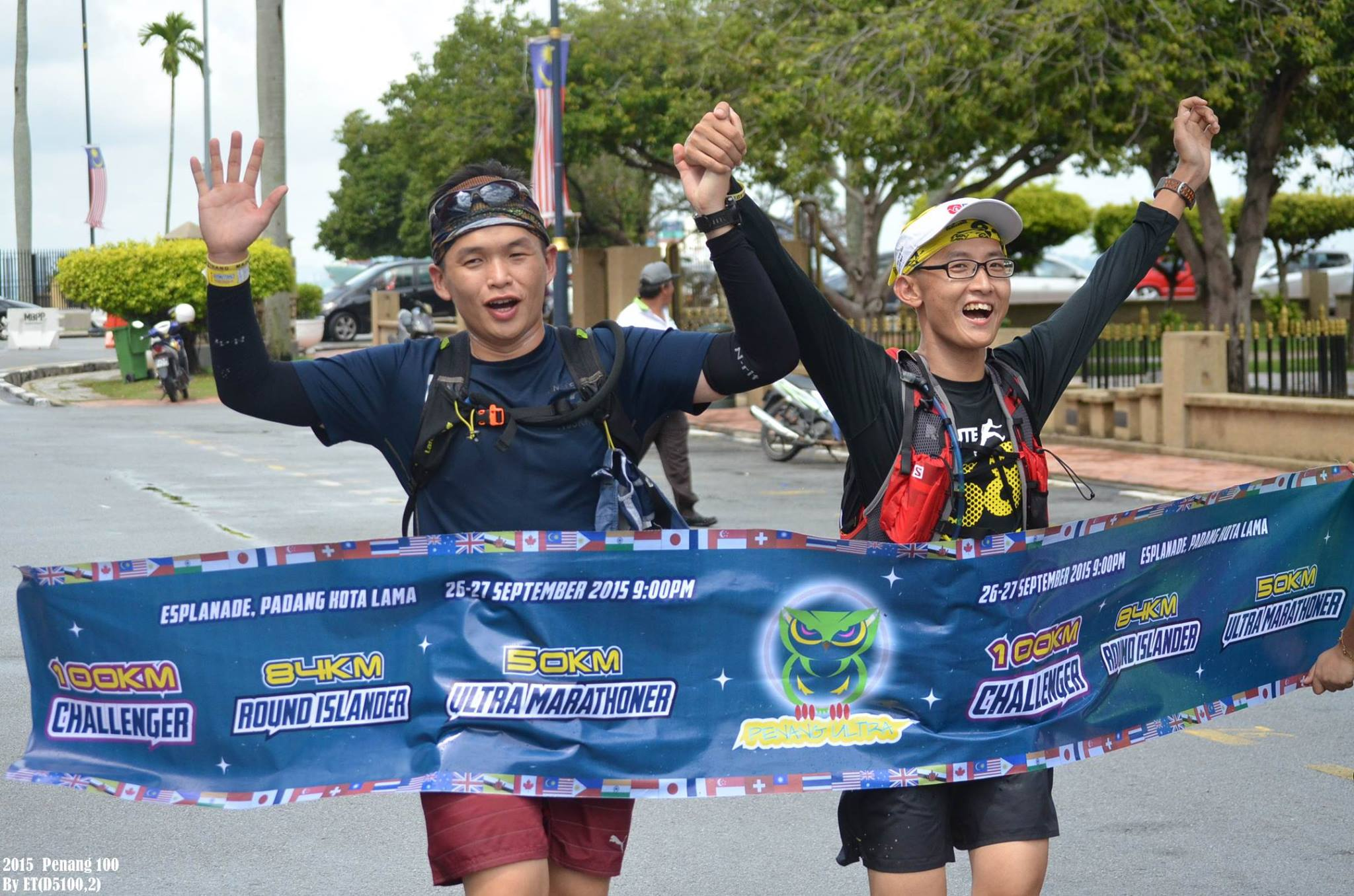 Penang Ultra 2015 - finally completed with Tong Lai